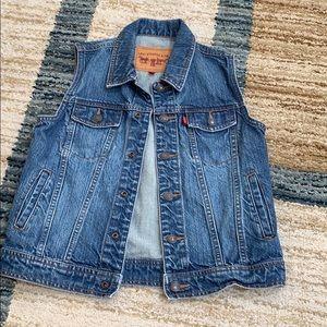 Kids' Levi's Jayden Trucker Vest